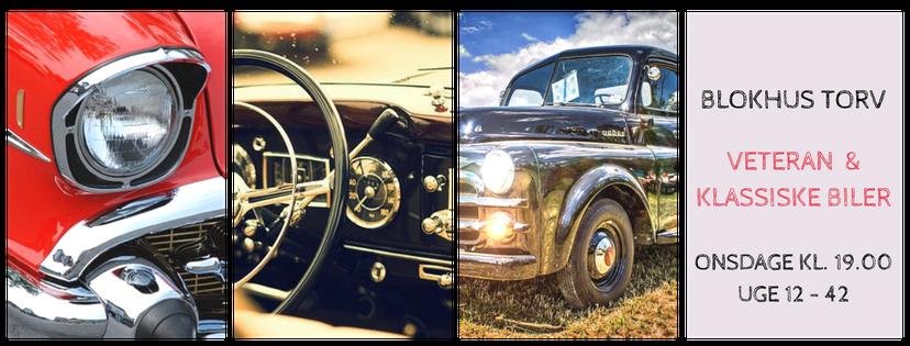 Veteran og Klassiske biler Blokhus Torv