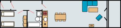 Plantegning type 1 og 2